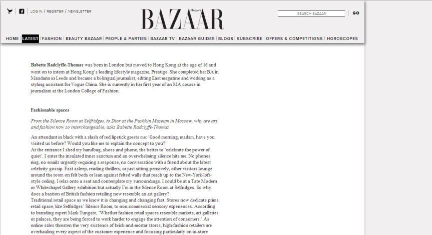 harper's bazaar art plus fashion award