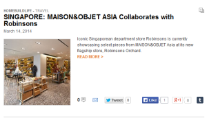 maison and objet asia