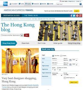 amex travel blog