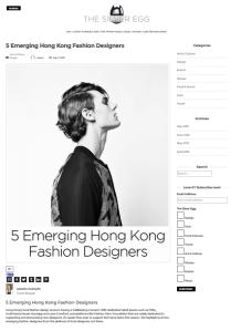 hk fashion