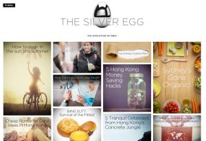 silver egg